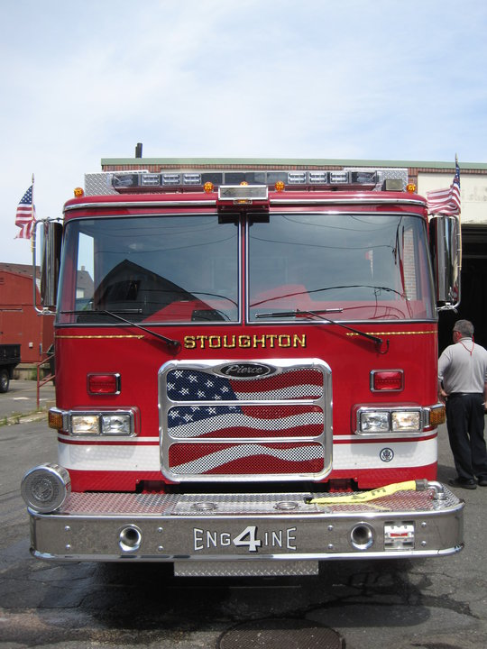 Welcome To Stoughtonu0027s New Fire Engine....#4